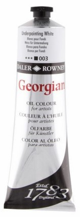 Georgian oil color 225ml 003 Underpainting White