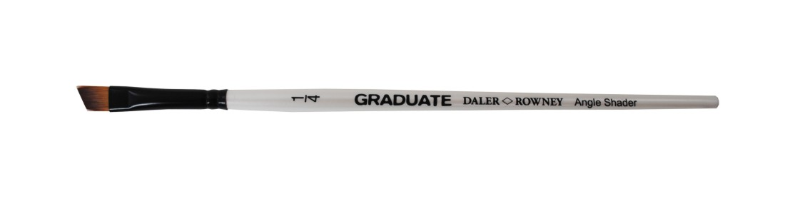"Graduate 1/2"" Synthetic Brush Sword Short Handle"