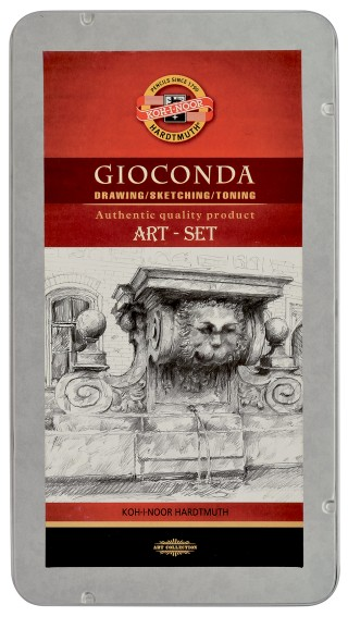 Gioconda Art-set 8894 metal box