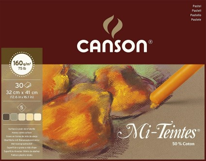 Canson Mi-teintes 32x41cm (30) Earth shades