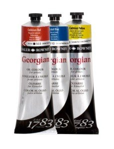 Georgian oil colours 38ml & 75ml