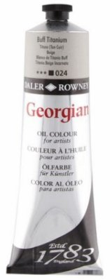Georgian oil color 225ml, 024 Buff Titanium