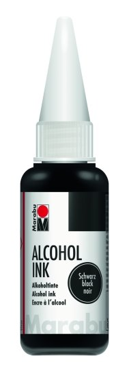 Marabu Alcohol ink 20 ml 073 black
