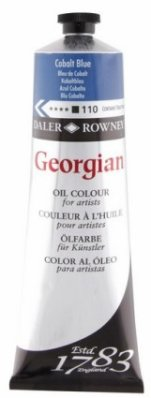 Georgian oil color 225ml, 110 Cobalt Blue