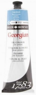 Georgian oil color 225ml, 112 Coeruleum