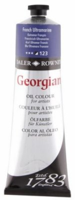 Georgian oil color 225ml, 123 French Ultramarine