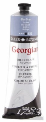 Georgian oil color 225ml, 133 Blue Grey