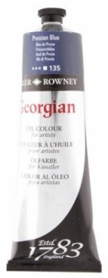 Georgian oil color 225ml, 135 Prussian Blue