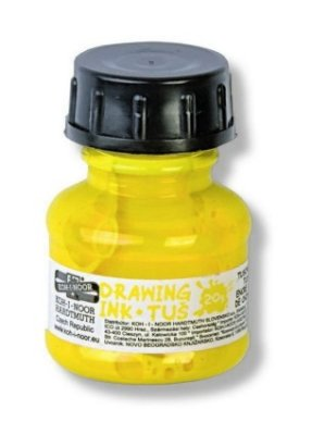 Drawing ink 20g, yellow