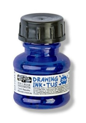Drawing ink 20g, blue
