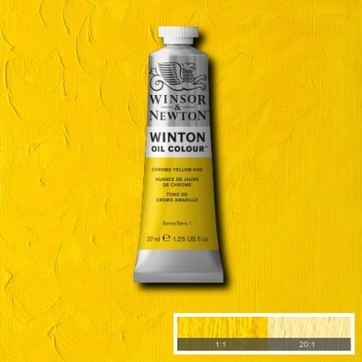 W&N Winton oil color 200ml 149 Chrome yellow