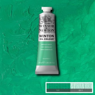 W&N Winton oil color 200ml 241 Emerald green