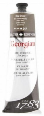 Georgian oil color 225ml, 247 Raw Umber