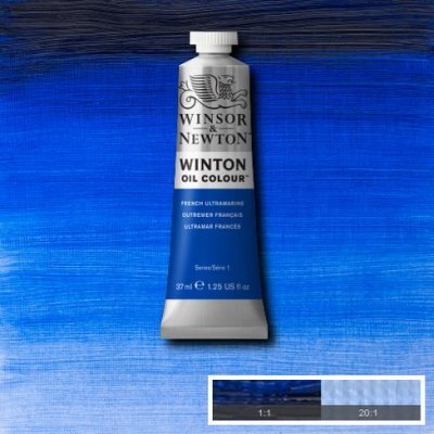 W&N Winton oil color 200ml 263 French ultramarine