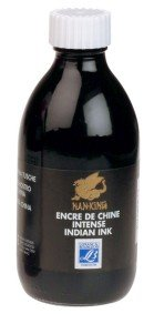 Nan King Indian Ink Black 250ml