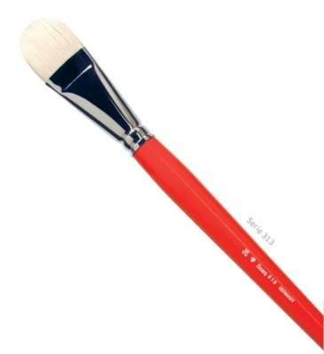Filbert brushes pig's bristle 313 Nro 12