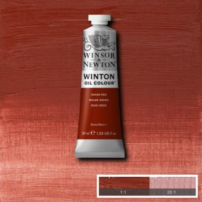 W&N Winton oil color 200ml 317 Indian red