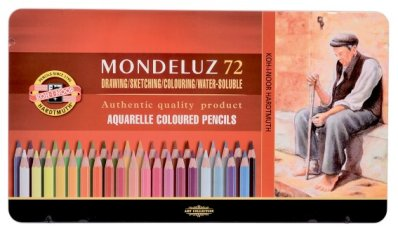 Mondeluz aquarell coloured pencil 72 pcs