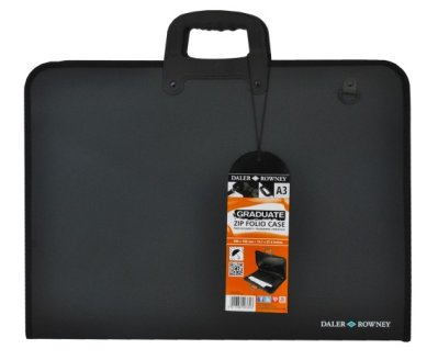Drawing briefcase A2 Graduate Zip Folio Case