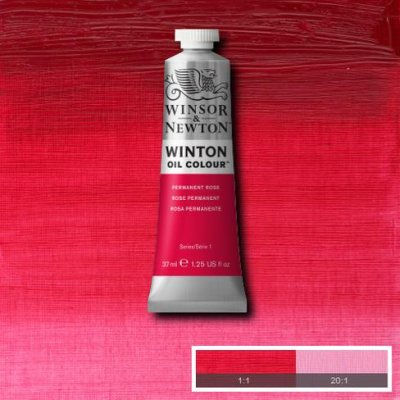 W&N Winton oil color 200ml 502 Permanent rose