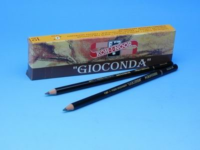Charcoal pencil Kohinor No 2, 12 pcs