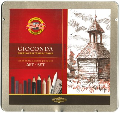Gioconda Art-set 8899 metal box
