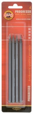 Progresso graphite pencil 4 pcs