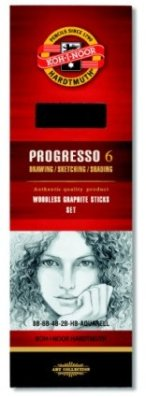 Progresso graphite pencil 6 pcs
