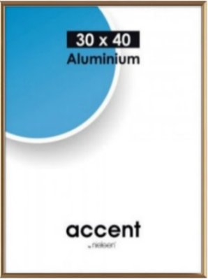 Accent frame 50x70 cm gold*