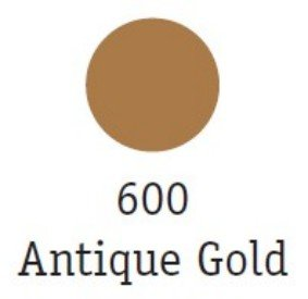 Goldfinger Metallic Paste 22ml, Antique Gold