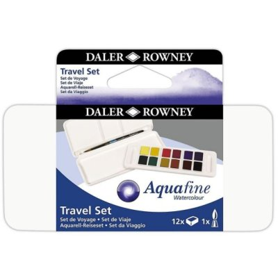 Aquafine Pocket Set Watercolour 12  ½ Pan