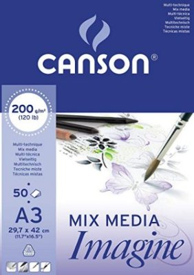 Mix Media Imagine pad A3