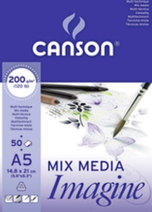 Mix Media Imagine pad A5 (50)