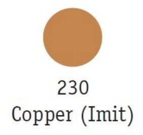 Goldfinger Metallic Paste 22ml, Copper