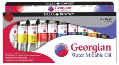 Georgian Water Mixable oil Selection set 10x37ml