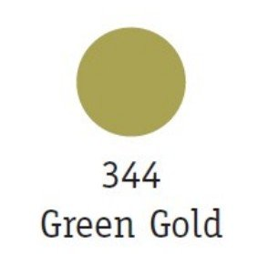 Goldfinger Metallic Paste 22ml, Green gold