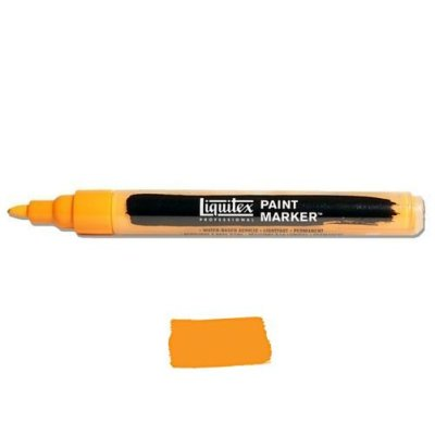 Liquitex Paint marker 2-4mm Cadmium yellow deep