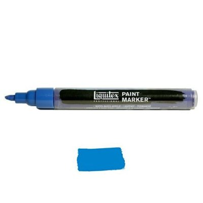 Liquitex Paint marker 2-4mm Phtalocyanine blue GS