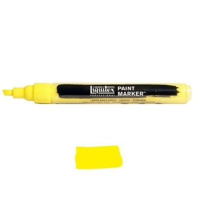 Liquitex Paint marker 2-4mm Yellow medium azo