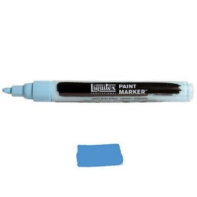 Liquitex Paint marker 2-4mm Light blue violet
