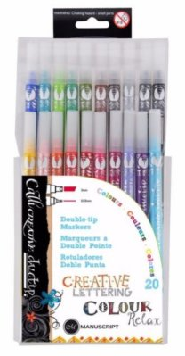 Caligraphic markers set MC DUO-Tip 10 pcs (tulossa)