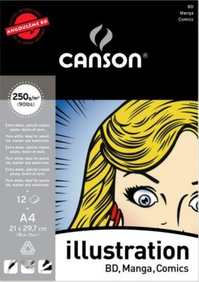 Canson Illustration pad A4 (12)