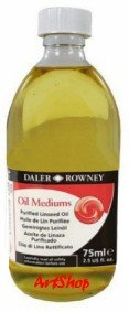 Purified Linseed Oil 500 ml Daler-Rowney