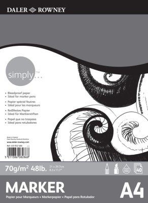 Simply marker pad A4 (40)