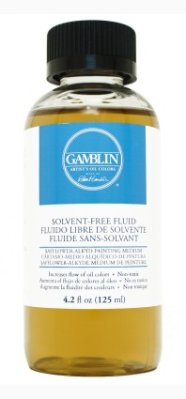 Solvent-Free Fluid 125ml painting medium