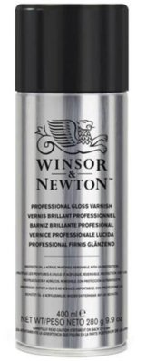 W&N Varnish Spray 400 ml satin