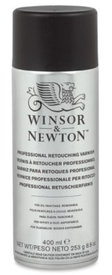W&N Retouching Varnish Spray 400 ml
