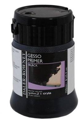 Black Gesso 250ml