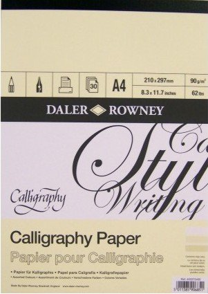 Calligraphy pad DR A4 (32)