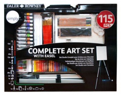 Complete Art set 115 pcs
